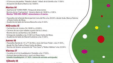 Photo of Atracciones, cucañas y trajes de flamenca para un septiembre diferente en Coria del Río