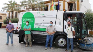 Photo of Gines incorpora una nueva máquina barredora a las labores de limpieza viaria