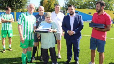 Photo of El estadio Antonio de los Santos 'Roque' fue reinaugurado con un encuentro de veteranos entre el JD Gines y el Real Betis