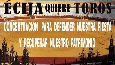Photo of El mundo del toro y la cultura se citan el día 12 de octubre para rescatar la plaza de toros de Écija