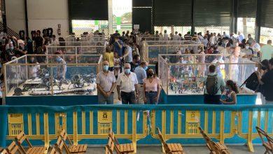Photo of El alcalde de Bormujos visita la Feria Playmobil con éxito de asistencia