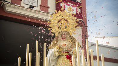 Photo of Castilleja de la Cuesta recupera el culto externo con el histórico traslado de los Sagrados Titulares de la Hermandad de Santiago