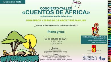 Photo of El espectáculo Cuentos de África llega a Sevilla este sábado